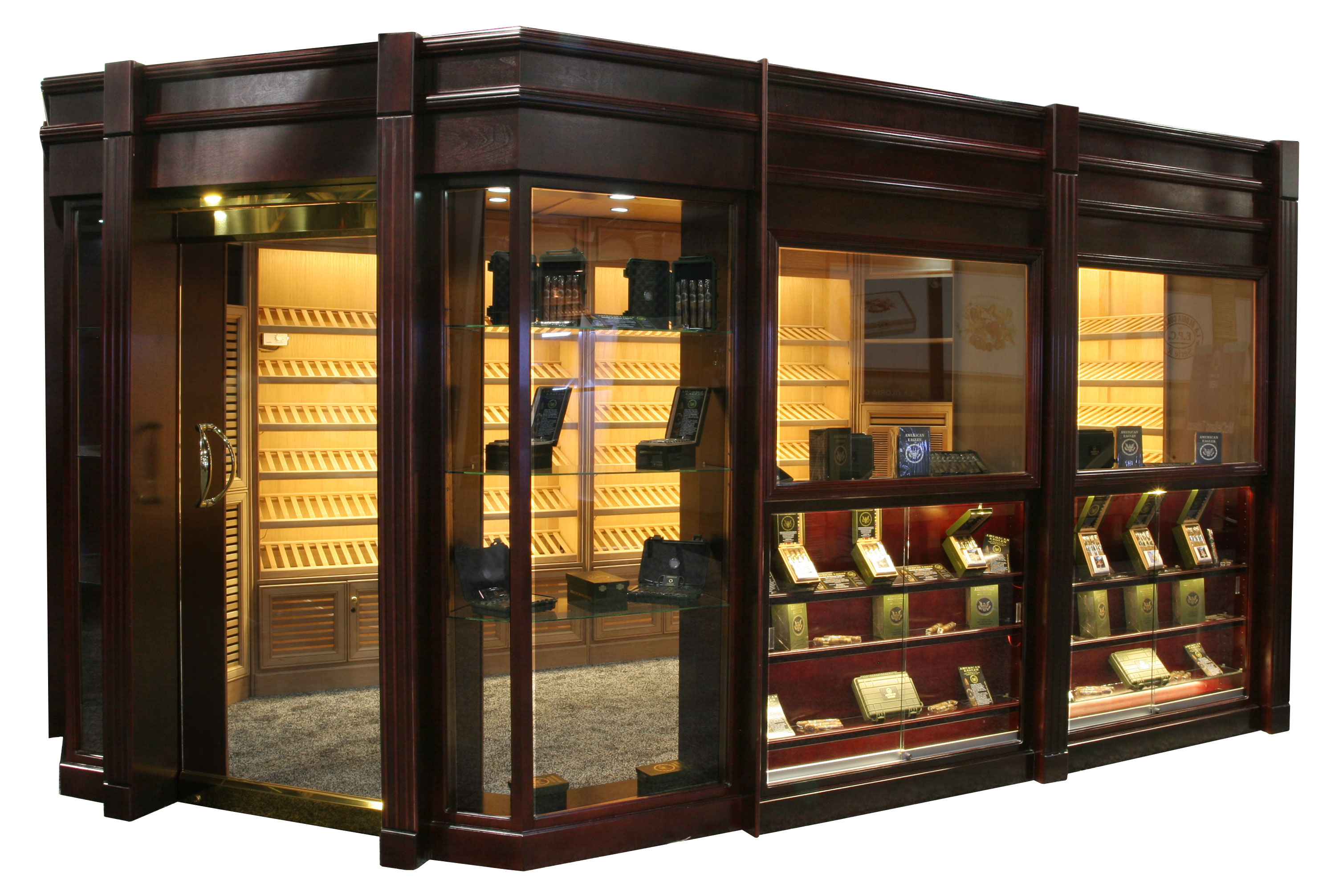 Portable Walk In Humidor #BE7F0D